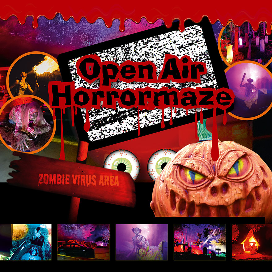 Open Air Horrormaze Halloween Eifelpark 2020